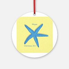 Personalized Starfish Ornament