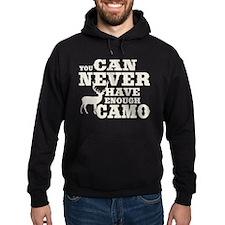 Hunting Camo Humor Hoodie