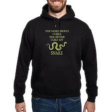Like My Snake Hoodie