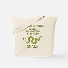 Like My Snake Tote Bag