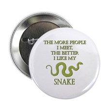 """Like My Snake 2.25"""" Button (10 pack)"""