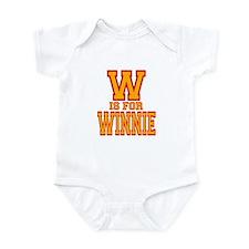W is for Winnie Infant Bodysuit