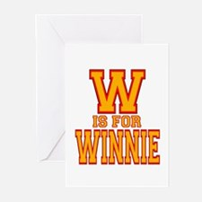 W is for Winnie Greeting Cards (Pk of 10)