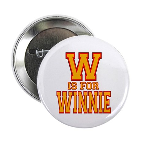 """W is for Winnie 2.25"""" Button (10 pack)"""