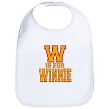 W is for Winnie Bib