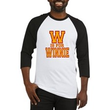 W is for Winnie Baseball Jersey