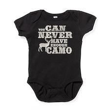 Hunting Camo Humor Baby Bodysuit