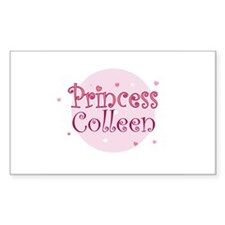 Colleen Rectangle Decal