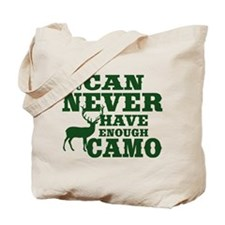 Hunting Camo Humor Tote Bag