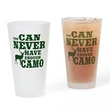 Hunting Camo Humor Drinking Glass