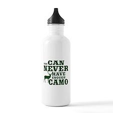 Hunting Camo Humor Water Bottle