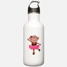 Monkey Ballerina Water Bottle