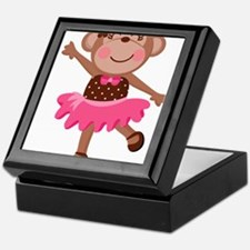 Monkey Ballerina Keepsake Box