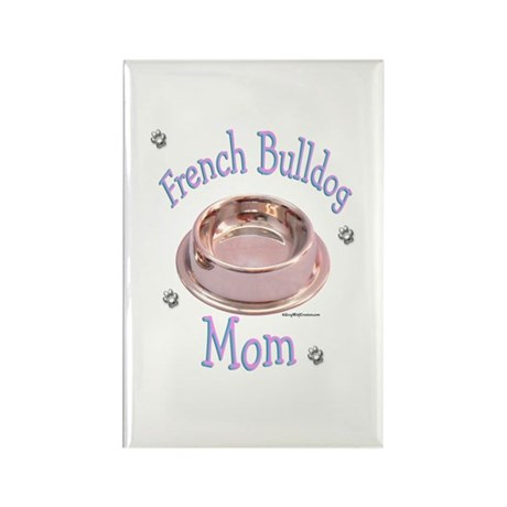 Frenchie Mom Rectangle Magnet
