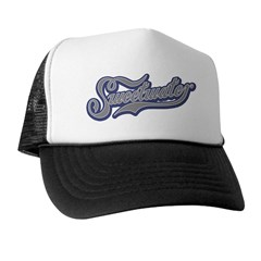 Sweetwater White/Black Trucker Hat
