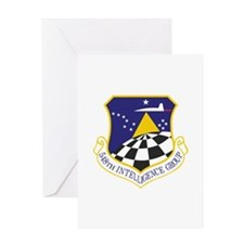 548th Intelligence Group Greeting Card