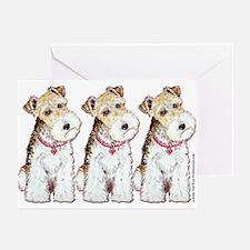 Homeless Fox Terrier Greeting Cards (Pk of 10)