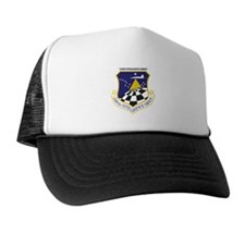 548th Intelligence Group with Text Trucker Hat