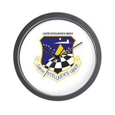 548th Intelligence Group with Text Wall Clock