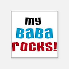 My Baba Rocks Sticker
