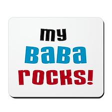 My Baba Rocks Mousepad