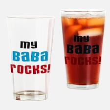 My Baba Rocks Drinking Glass