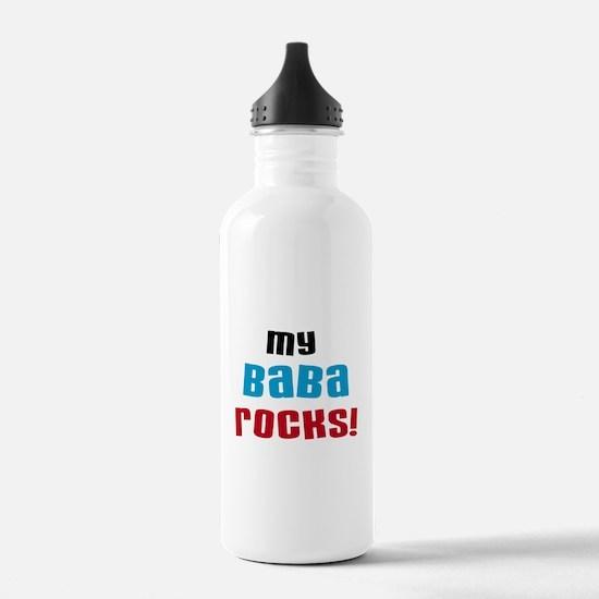 My Baba Rocks Water Bottle