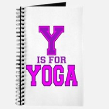 Y is for Yoga Journal
