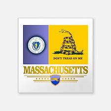 Massachusetts Gadsden Flag Sticker