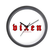 Vixen Wall Clock