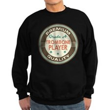 Trombone Player Vintage Jumper Sweater