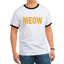 MEOW (yellow) T-Shirt