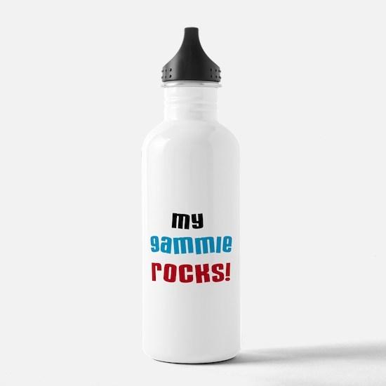 My Gammie Rocks Water Bottle
