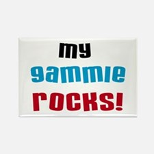My Gammie Rocks Rectangle Magnet
