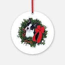 Boston Christmas Ornament (Round)