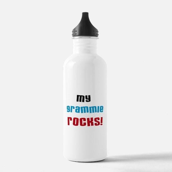 My Grammie Rocks Water Bottle