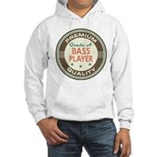 Bass Player Vintage Hoodie