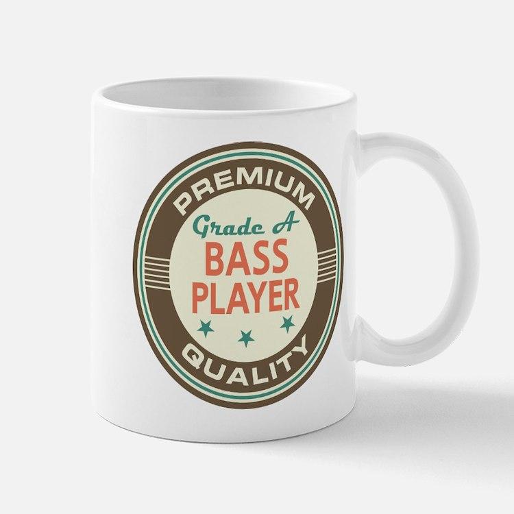 Bass Player Vintage Mug