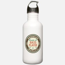 Bass Player Vintage Water Bottle