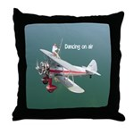 Dancing on Air Throw Pillow