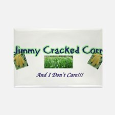 Jimmy Cracked Corn Rectangle Magnet