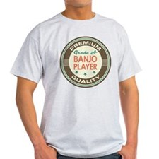 Banjo Player Vintage T-Shirt