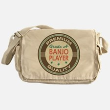 Banjo Player Vintage Messenger Bag