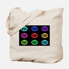 Condom Rainbow Pop Art Tote Bag