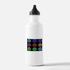 Condom Rainbow Pop Art Water Bottle