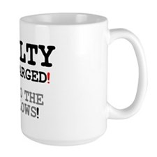 GUILTY AS CHARGED - OFF TO THE GALLOWS! Z Mug