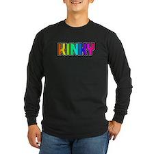 KINKY-RAINBOW LETTERS T