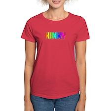KINKY-RAINBOW LETTERS Tee