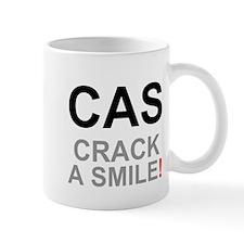 TEXTING SPEAK - - CAS - CRACK A SMILE! Z Small Mug