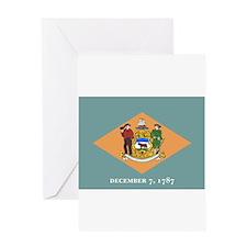 Delaware Flag Greeting Card